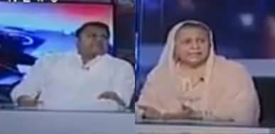Capital Talk (PTI Karkardagi Ki Bunyad Per Vote Kaise Mange Gi) - 17th May 2018