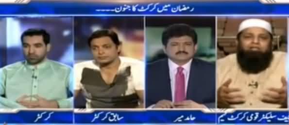 Capital Talk (Ramzan Mein Cricket Ka Junoon) - 4th July 2016