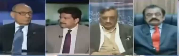 Capital Talk (Rana Sanaullah Se Istefe Ka Mutalba) - 29th November 2017