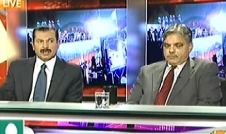 Capital Talk (Should PTI Be Allowed to Hold Protest in Red Zone?) - 19th November 2014