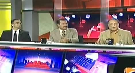Capital Talk (Sit-ins and Jalsas & Behaviour of Govt) – 29th September 2014