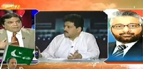 Capital Talk Special (Dr. Tahir ul Qadri Yaum e Shuhda & PTI Long March) – 10th August 2014