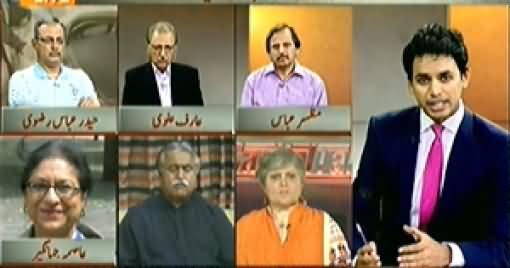Capital Talk (Special Transmission on Hamid Mir Attack) – 24th April 2014