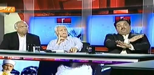 Capital Talk (Special Transmission on PTI & PAT Dharna) – 27th August 2014
