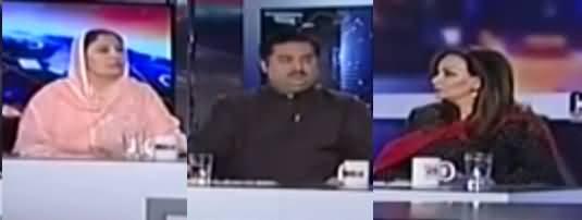 Capital Talk (Uzair Baloch Fauj Ki Hirasat Mein) - 12th April 2017