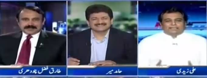 Capital Talk (Why Nehal Hashmi Took Back Resignation) - 6th June 2017