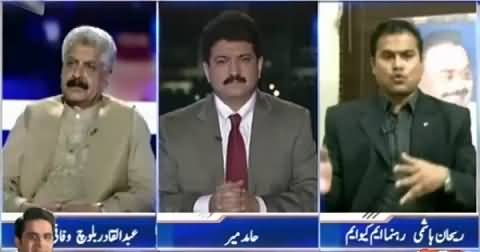 Capital Talk (Why No Monitoring Committee on Karachi Operation) – 18th August 2015
