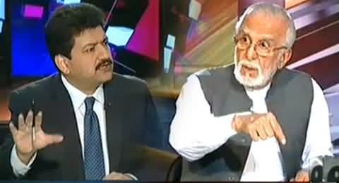 Capital Talk (Why Zulfiqar Khosa Is Angry with Sharif Brothers?) – 4th November 2014