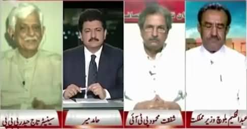 Capital Talk (Will Climate Change Effect Pakistan's Politics?) – 29th June 2015