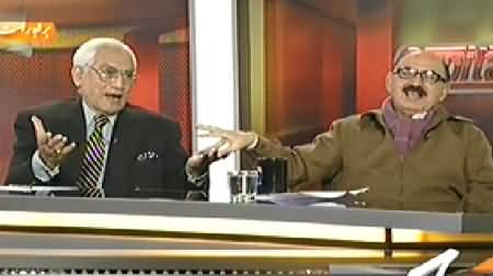 Capital Talk (Will Musharraf Leave Pakistan in 2014? Irfan Siddiqui Vs Ahmad Raza Kasuri) - 26th December 2013