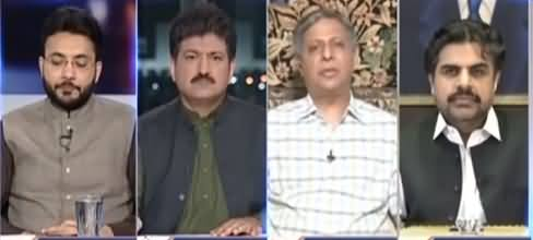 Capital Talk with Hamid Mir (Roads Blocked Countrywide) - 13th April 2021