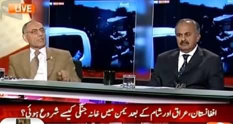 Capital Talk (Yeman Mein Khana Jangi Aur Pakistan Ka Kirdar) – 26th March 2015