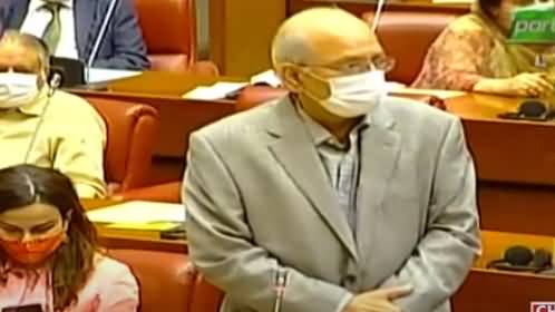 Captain Safdar And Maryam Issue In Senate - Mushahid Ullah Khan Sensational Speech