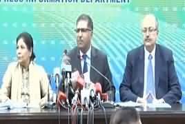 Caretaker Ministers Press Conference on Load Shedding – 12th June 2018
