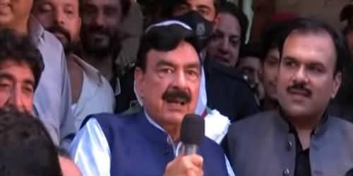 Cash Group Haar Gaya Hai, Imran Khan Ka Balla Jeet Gaya Hai - Sheikh Rasheed