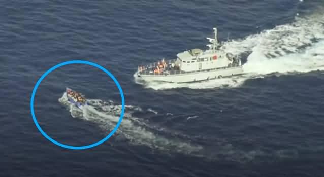 Caught On Camera: Libyan Coastguard Shoots at Migrant Boat