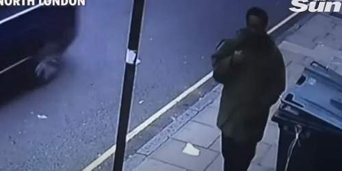 CCTV Footage of British MPA David Amess Murder Suspect on Morning of Attack