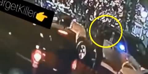 CCTV Video Of Moulana Dr Adil Khan's Assassination Appears