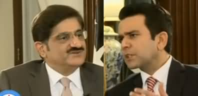 Center Stage (CM Sindh Murad Ali Shah Exclusive Interview) - 6th December 2019