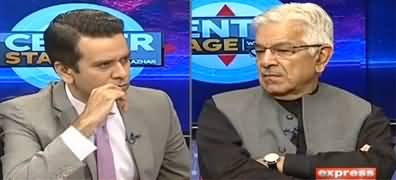 Center Stage With Rehman Azhar (Khawaja Asif Exclusive Interview) - 15th November 2019