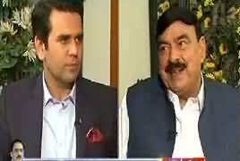 Center Stage With Rehman Azhar (Sheikh Rasheed Interview) – 19th April 2018