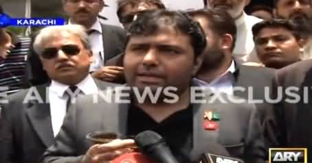 CEO BOL & Axact Shoaib Sheikh Special Talk To Media Outside Sindh High Court