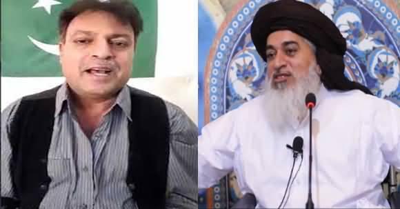 Chacha Abdul Shakoor Once Again Bashing Khadim Hussain Rizvi on His Lies