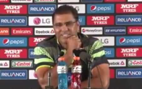 Check The Attitude of Waqar Younis on Question About Sarfaraz Ahmad