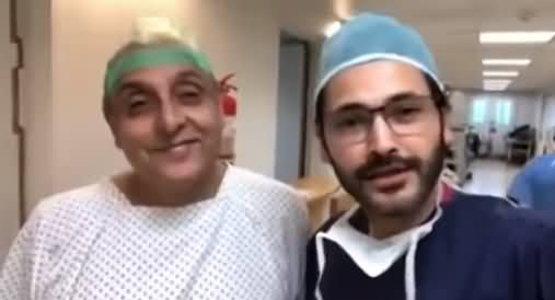 Check The Latest Condition of Sajid Hussain Whose Hair Transplant Went Wrong