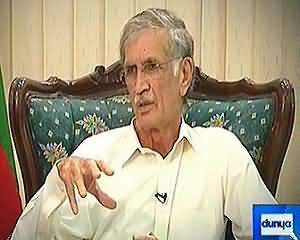 Cheif Minister KPK Pervaiz Khattak Exclusive Interview in Talaash – 13th July 2013