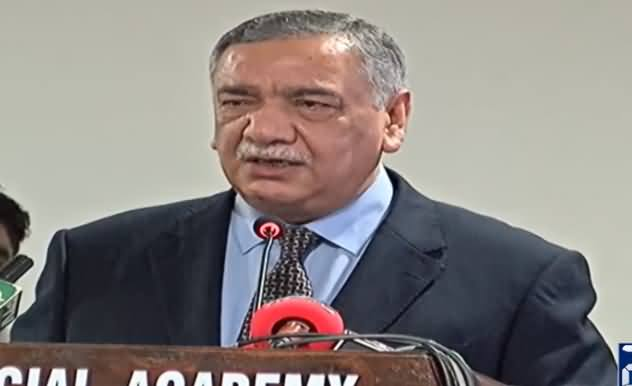 Chief Justice Asif Saeed Khosa Addresses Ceremony at Judicial Academy in Islamabad