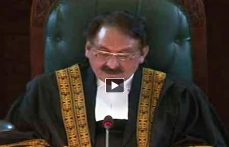 Chief Justice Iftikhar Muhammad Chaudhary Address to Full Court Reference - 11th December 2013