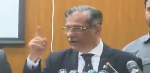 Chief Justice of Pakistan Mian Saqib Nisar's intense Speech in Lahore