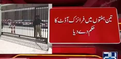 Chief Justice Ordered Forensic Audit of Expenditures Worth Rs. 20 Billion by Kidney, Liver Institute