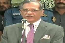 Chief Justice Saqib Nisar Addresses Media in Lahore - 15th September 2018