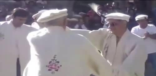 Chief justice Saqib Nisar's Traditional Dance with local Hunza Community | Viral Video