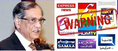 CJP Angry on Pakistani Channels For Airing Vulger Indian Content