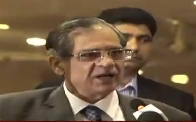 Chief Justice Indirectly Bashing Lifafa Journalists & Nawaz Sharif