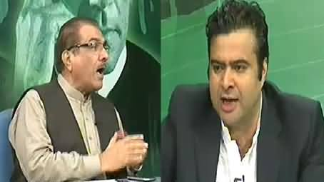 Clash Between Kamran Shahid and Mujeeb ur Rehman Shami in Live Show