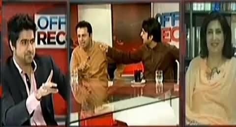 Clash Between Murad Saeed and Talal Chaudhry on Calling Imran Khan, Gabbar Singh