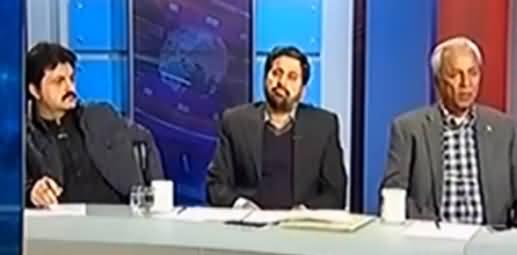 Clash Between Nehal Hashmi And Fayaz ul Hassan Chohan