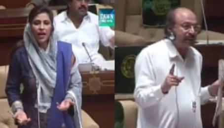 Clash Between PPP and PMLN Functional Members in Sindh Assembly