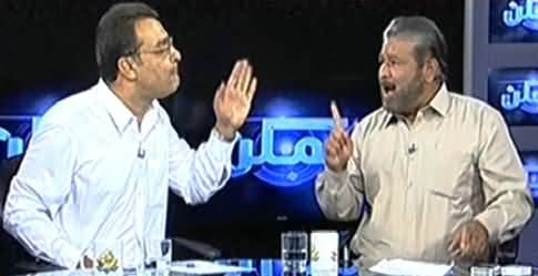Clash Between Qazi Faiz (PAT) And Noor Alam (PPP) in Live Show