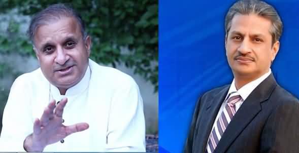 Clash Between Rauf Klasra And Absar Alam on Twitter