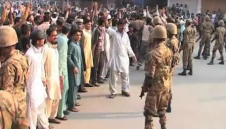 Clash Between Two Groups in Multan, Govt. Called Army Troops to Handle the Situation
