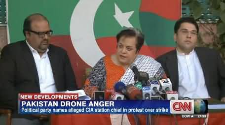 CNN Highlights Imran Khan's Struggle Against Drones and Nomination of CIA in Drone Strikes by PTI