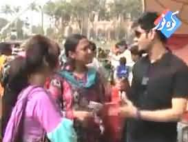 College Mela - Anchor's Funny Questions From the Students in College Fun Mela