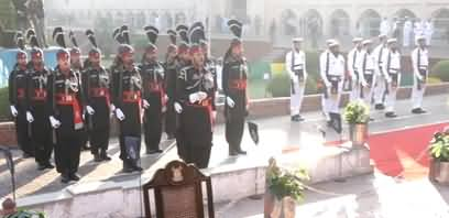 Complete Guards Changing Ceremony at Tomb of Allama Iqbal - 9th November 2019