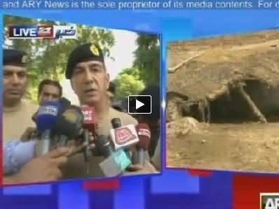 Core Commander Multan Abid Pervez Media Briefing on Flood Victims Rescue - 17th September 2014
