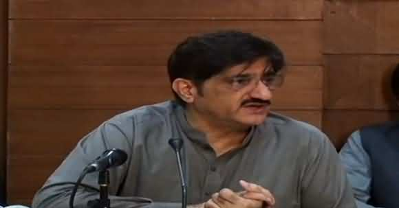 Corona Cases May Be Increased After 14 Days - Murad Ali Shah Media Talk